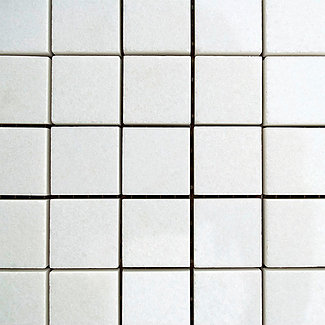"Thassos: Mosaic 1"" x 1"""